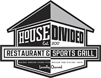 House Divided Restaurant & Sports Grill Logo